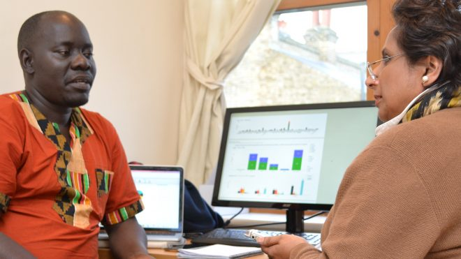 'Pop-up' office offers in-person support to AgShare.Today members in Tanzania